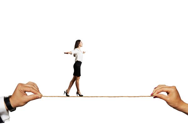 לשמור על האיזון בעסק